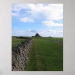 Castle Lindisfarne on Holy Island Print