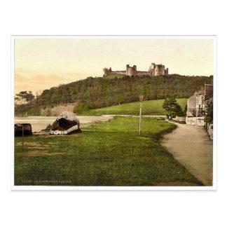 Castle, Llanstephen (i.e. Llansteffan), Wales rare Postcard