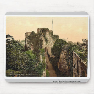 Castle, Marten's Tower, Chepstow, England vintage Mouse Pad