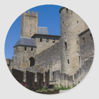 Castle Medieval Times Destiny Gifts Classic Round Sticker