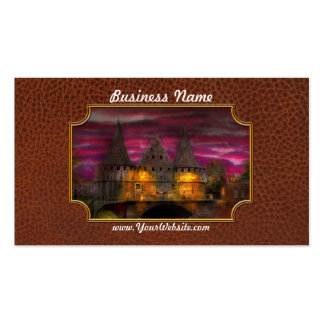 Castle - Meet me by the Rabot Sluice Business Card