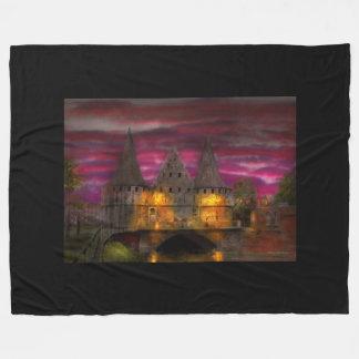 Castle - Meet me by the Rabot Sluice Fleece Blanket