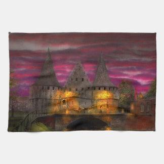 Castle - Meet me by the Rabot Sluice Hand Towels