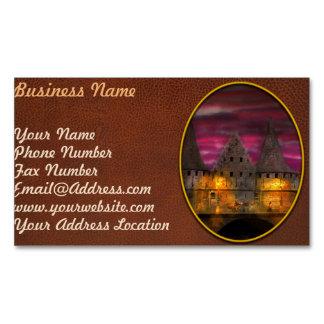 Castle - Meet me by the Rabot Sluice Magnetic Business Card