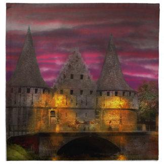 Castle - Meet me by the Rabot Sluice Napkin