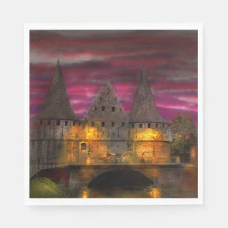 Castle - Meet me by the Rabot Sluice Paper Napkin