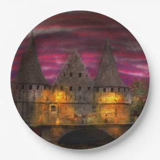 Castle - Meet me by the Rabot Sluice Paper Plate