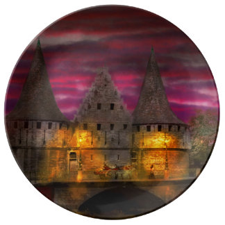 Castle - Meet me by the Rabot Sluice Porcelain Plate