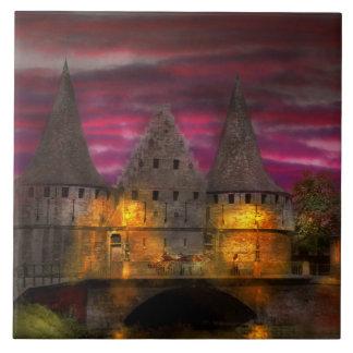 Castle - Meet me by the Rabot Sluice Tile