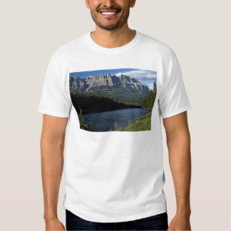 Castle Mountain, Bow River, Alberta, Canada Shirts