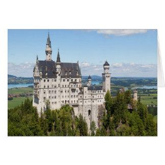 Castle Neuschwanstein at Schwangau Bavaria German Card