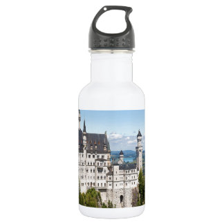Castle Neuschwanstein at Schwangau Bavaria German Stainless Steel Water Bottle