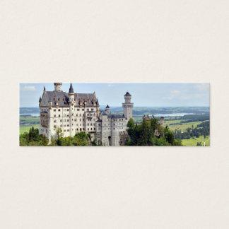 Castle Neuschwanstein Bavaria Germany Mini Business Card