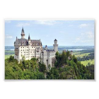 Castle Neuschwanstein Bavaria Germany Photo Print