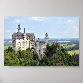 Castle Neuschwanstein Bavaria Germany Print