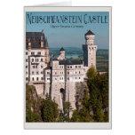 Castle Neuschwanstein from Marienbrücke - English Card