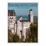 Castle Neuschwanstein from Marienbrücke - English Post Card