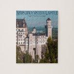 Castle Neuschwanstein from Marienbrücke - English Puzzles