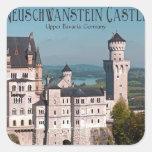 Castle Neuschwanstein from Marienbrücke - English Sticker