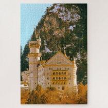 Castle Neuschwanstein Germany. Jigsaw Puzzle
