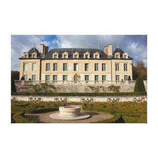 Castle of Auvers-sur-Oise Impresiones En Lona Estiradas