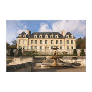 Castle of Auvers-sur-Oise Lona Estirada Galerías