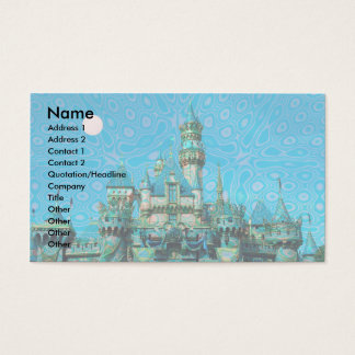Castle of Dreams template Business Card