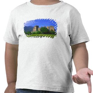 Castle of Fenis near Italian Alps in Fenis, T Shirt