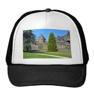 Castle of Fougères in France Mesh Hats