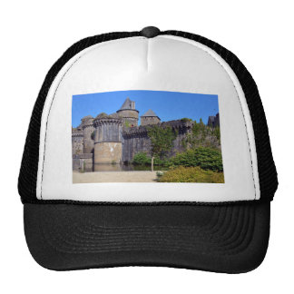 Castle of Fougères in France Trucker Hat