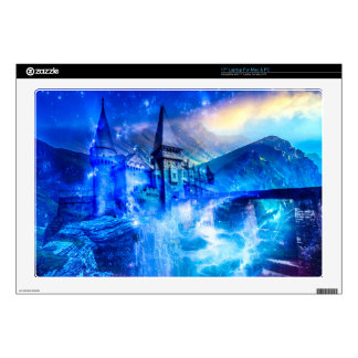 """Castle of Glass 17"""" Laptop Decals"""
