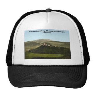 Castle of Landsberg, Meiningen, Thuringia, Germany Hats