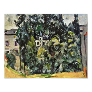 Castle Of Marines By Paul Cézanne (Best Quality) 4.25x5.5 Paper Invitation Card
