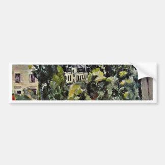 Castle Of Marines By Paul Cézanne (Best Quality) Car Bumper Sticker