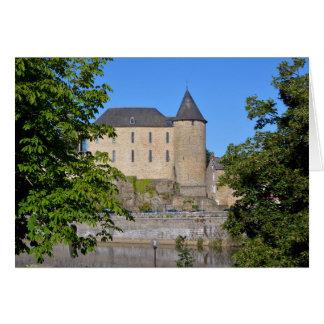 Castle of Mayenne in France Card