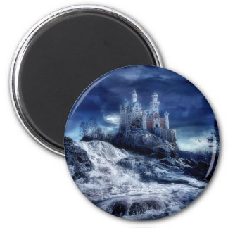 Castle Of My Dreams 2 Inch Round Magnet