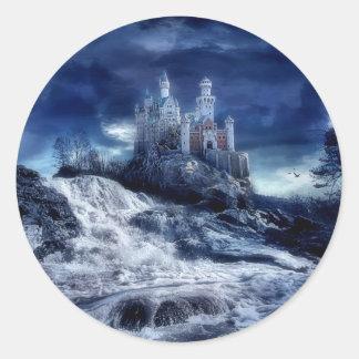 Castle Of My Dreams Classic Round Sticker