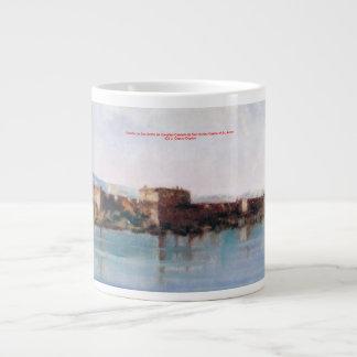 Castle of San Antón (To Corunna) Large Coffee Mug
