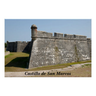 castle of san marcos poster