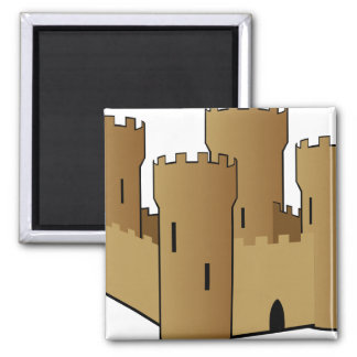 Castle of Sand Fridge Magnet