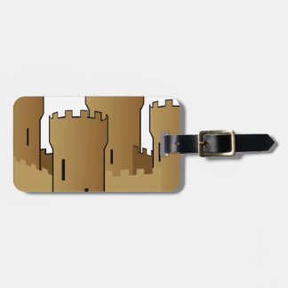 Castle of Sand Luggage Tag