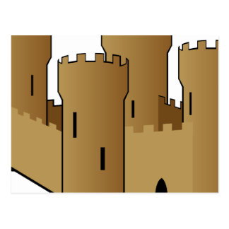 Castle of Sand Postcard