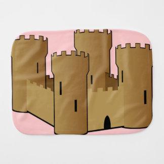 Castle of Sand Burp Cloths