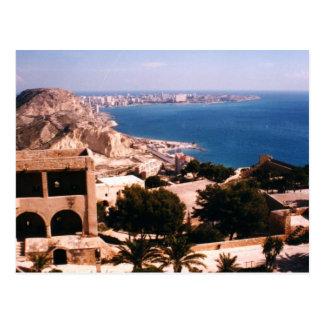 Castle of Santa Barbara Postcard