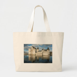 Castle of South Sully Loire Large Tote Bag
