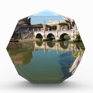 Castle of the Holy Angel from a bridge Acrylic Award