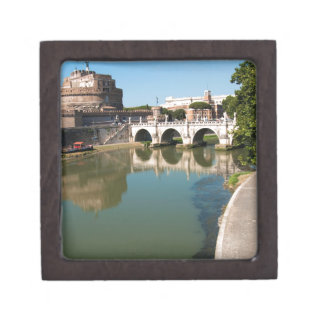 Castle of the Holy Angel from a bridge Gift Box