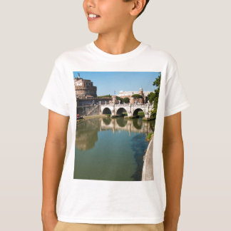 Castle of the Holy Angel from a bridge T-Shirt