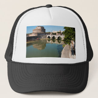 Castle of the Holy Angel from a bridge Trucker Hat