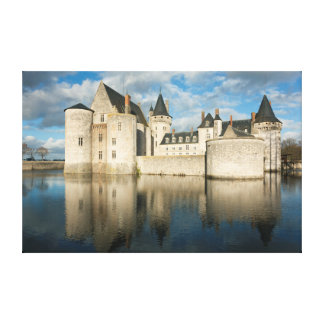 Castle of the Sully-South-Loire Stretched Canvas Prints